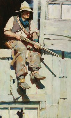 Frank Schoonover (1877–1972) (1877-1972) Title 	  Hopalong Takes Command