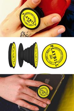 Let the Playbill Popsocket give you a better grip on your cell phone for all your stage-door selfies! Good Grips, Musical Theatre, Nice Things, Selfies, Theater, Musicals, Stage, Fandom, Tech