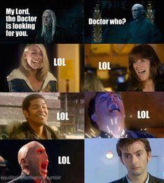 Harry Potter x Dr Who. via @InheritanceCP