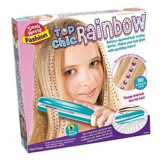 Small World Toys Top Chic Rainbow Glamour Hair Styling Device ** Click photo to examine even more information. (This is an affiliate link).
