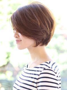 Soft bob haircut