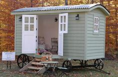 Shepherds Hut Tiny House by Pixie Palace Hut Company Photo
