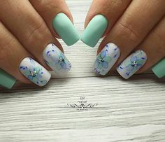 35 Amazing Nail Art Designs for Spring 2019 Cute Acrylic Nail Designs, Valentine's Day Nail Designs, Cute Acrylic Nails, Beautiful Nail Designs, Toe Nail Art, Nails Design, Hot Nails, Swag Nails, Simple Toe Nails