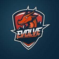"""Consulta este proyecto @Behance: """"Evolve eSport Logo"""" https://www.behance.net/gallery/38611577/Evolve-eSport-Logo"""