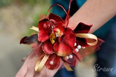 Corsage for prom.