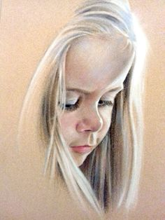 Hannah pastel painting