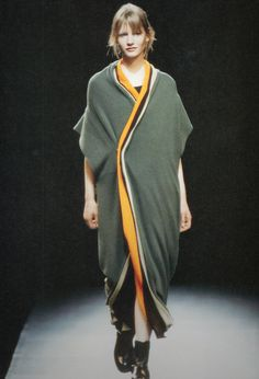 Yohji Yamamoto 1995.  This is what I would wear to a Packer game. If I ever went to a Packer game.