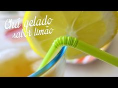 Chá gelado sabor limão - YouTube