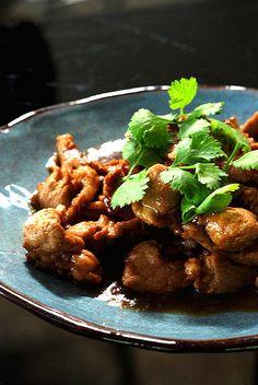 Recette  Porc rôti au miel et à la sauce de soja