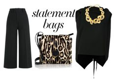 """""""carry on: statement bags"""" by xaia on Polyvore featuring Jimmy Choo, Roland Mouret, Jil Sander and Oscar de la Renta"""