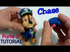 DIY: CHASE - PAW PATROL ( PARTE 2) TUTORIAL- COLD PORCELAIN - YouTube