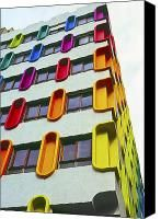 Colourful Architecture  Photograph by Damian Furlong - Colourful Architecture  Fine Art Prints and Posters for Sale