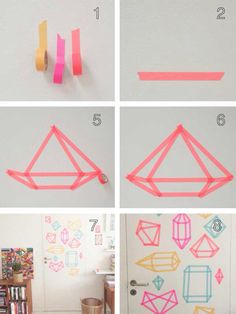 DIY diamond wall decor
