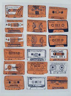 Kate Bingaman Burt: Mixtape Poster.