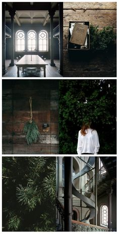 lotta agaton green party moodboard