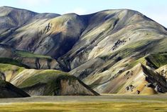 See The World From The Tippy Top From One Of These 21 Sights #refinery29  http://www.refinery29.com/afar/7#slide-20  Landmannalaugar Hut, South IcelandAt the beginning of a four-day, 40-mile trek through the fringes of the Icelandic highlands, we saw these artistic masterpieces. Landmannalaugar. To me, they were the Rainbow Mountains. Majestic. Surreal. Hiking by this beautiful landscape seemed almost as if we were walking through a painting, in which the artist used impressionistic ...