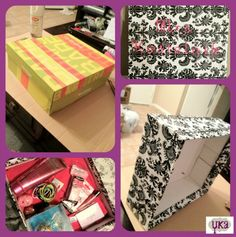 Wedding Gift Card Box Tutorial : ... Wedding card boxes, Money box wedding and Indian wedding cards