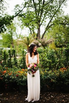 Photography : rebeccacaridad-manzanita.com | A bride looks stunning in SaJa Wedding Gown | Read this #wedding on fabmood.com