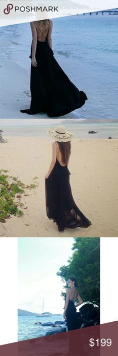 🌴Coming soon🌴Sexy Black Beach Maxi Derss ❤Will be in store soon! Dresses Maxi