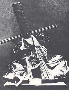 """Umberto Boccioni, """"Fusione di una testa e di una finestra"""", 1911-12, scultura distrutta"""