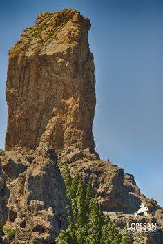 Roque Nublo in Gran Canaria,Canary Islands