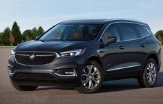 2018 Buick Enclave Great SUV Outlook with New Entertainment Features