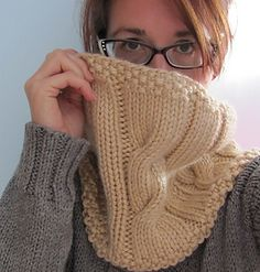 Try this knit Tulip Tree Cowl made with Hometown USA for a classic winter scarf. Free Pattern by Sunflower Knits. *Note:  you will need a Ravelry account to access this pattern.