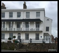 In 1832 Elizabeth Barrett Browning lived in the terrace when her father rented no. 8 for a year. Visit Devon, Elizabeth Barrett Browning, Poet, Writers, Terrace, Texts, 19th Century, Father, Places
