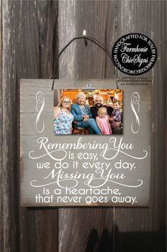 remembrance gifts, memorial gifts, in memory of, because someone we love is in… - Decor Collage Ideas Condolence Gift, Sympathy Gifts, Homemade Gifts, Diy Gifts, Wood Crafts, Diy And Crafts, Adult Crafts, Funeral Gifts, Funeral Ideas