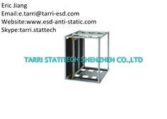 Metal Anti Static Storage Adjustable Antistatic PCB Rack 535×530×570 mm By Gear Track