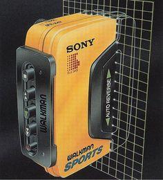"neontalk: ""🎼Airbrush by Luis Molina Sony Walkman Sports … Via Chrome&Lightning … Amen Break, New Retro Wave, Retro Waves, Moda Cyberpunk, Light Grid, 80s Design, Design Art, Airbrush Art, Retro Aesthetic"