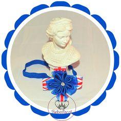 British  headband for baby