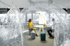 inflatable meeting interior