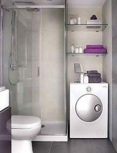 10 ярких трюков, чтобы маленькая ванная комната выглядела огромной! Вот это преображение…