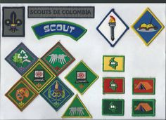 antigua progrecion de tropa scouts de colombia