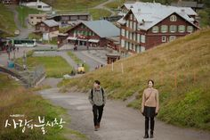 Of Course Fated OTP in Crash Landing on You Had Previous Dreamy Encounter in Switzerland Involving Paragliding to Boot You From Another Star, Korean Couple Photoshoot, Netflix, Korean Military, Sky Bridge, Jeju Island, Hyun Bin, Paragliding, Filming Locations