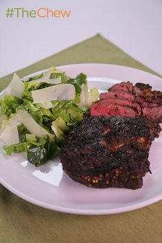 Why go to a pricey steak house when you came make this Ribeye Tagliata with Escarole by Mario Batali at home for twice the flavor and half the cost!