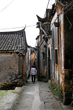 Village life . Xiapu Fujian China