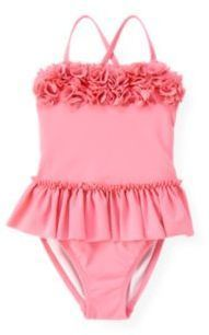 ShopStyle: Janie and Jack Rosette Skirted One-Piece Swimsuit