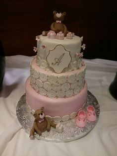 Baptism Cake from QUEEN BEE EDIBLE ART
