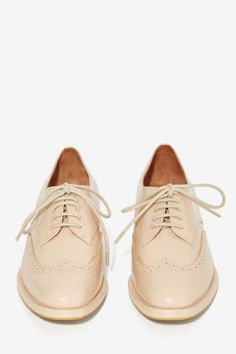 Jeffrey Campbell Townie Leather Oxford //