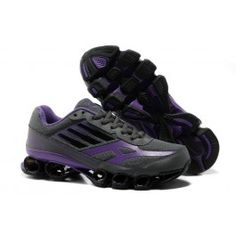new style aa1a9 00fe2 Adidas Bounce Five-Star V5 Mørkgrå Lilla Dame Running Shoes On Sale, Adidas  Running