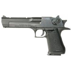 Magnum Research Desert Eagle Mark XIX Semi Auto Handgun .44 Magnum 6 Barrel 8 Rounds Black Grips Black Oxide Finish DE44