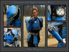 Van Eyckes Sepphire Armor by ~farmer-bootoshysa on deviantART