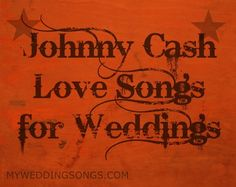 Johnny Cash Is Known As A Country Musician Not All Of Cashs Music Wedding MusicCountry SongsJohnny