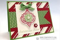 stampin up Christmas cards using ornament keepsakes - Bing Images