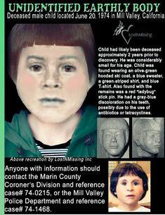 Identify Mill Valley Little John Doe!