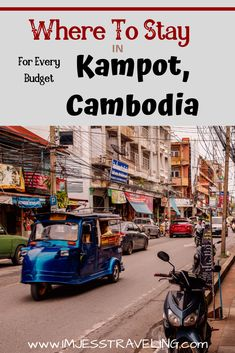 Traveling to Kampot, Cambodia and looking for the best places to stay.  I have made a list of where to stay in Kampot, Cambodia for all budgets. Cambodia Beaches, Cambodia Travel, Luang Prabang, Countries To Visit, Cool Countries, Travel Guides, Travel Tips, Travel Abroad, Travel Destinations