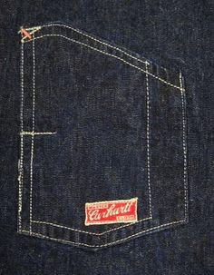 vintage workwear: Vintage 1920's CARHARTT Chore Coat