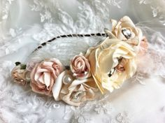 Beautiful flower head garland